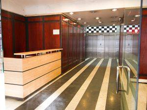 Arriendo Edificio Miraflores 388 - recepción
